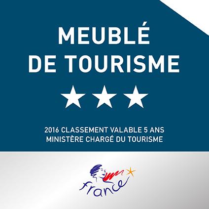 Classement 3 étoiles Meiblé de tourisme