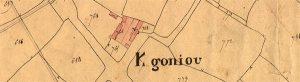 Ancien cadastre de 1834