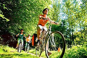 Randonnée vélo vtt