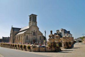 Gite de Kergoniou.Eglise de Camlez