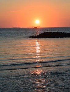 coucher de soleil aout Trestel