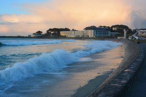 Grande marée avril pres centre helio-marin