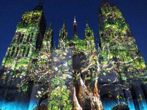 Spectacle son et lumière cathédrale de Rouen