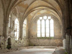 Abbaye de Bonport refectoire